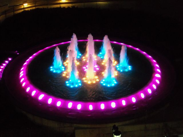 LED Water Fountain Lighting