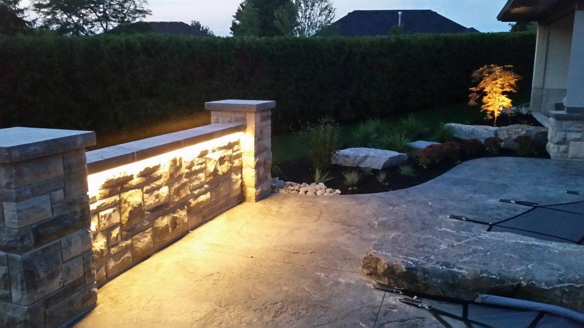 Landscape Strip Lighting