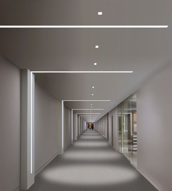 Wall to Ceiling Lighting
