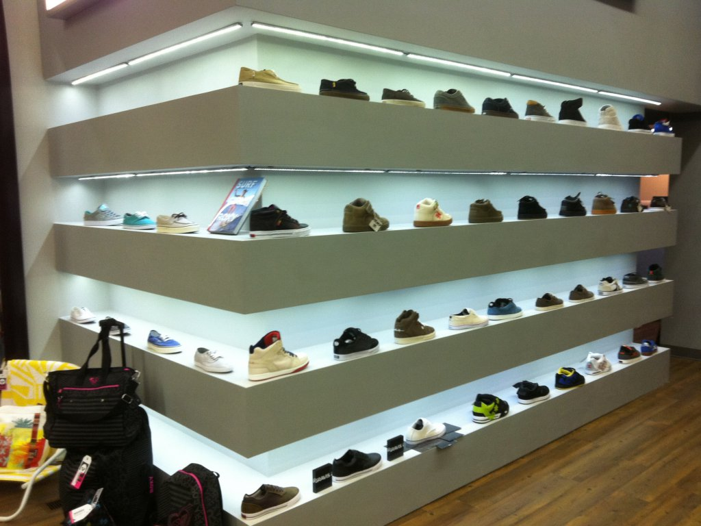 Retail Shoe Display